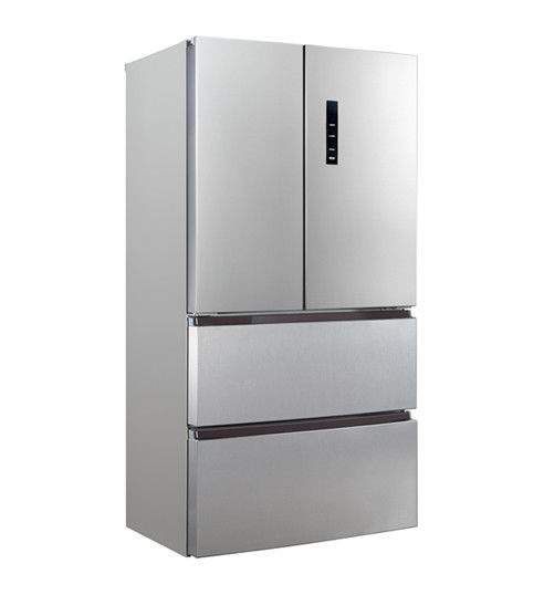 452L French Style Fridge Freezer , Energy Efficient Four Door French Door Refrigerator